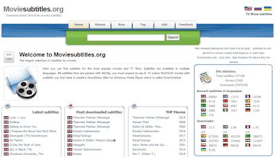 Aplikasi Download Subtitle - Moviesubtitles