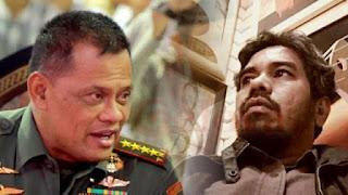 Teddy PKPI Mengaku Pernah Hajar Gatot Nurmantyo saat Masih Jadi Panglima TNI