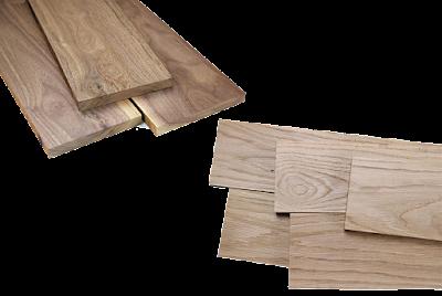 Gỗ sồi và gỗ óc chó Bình Dương