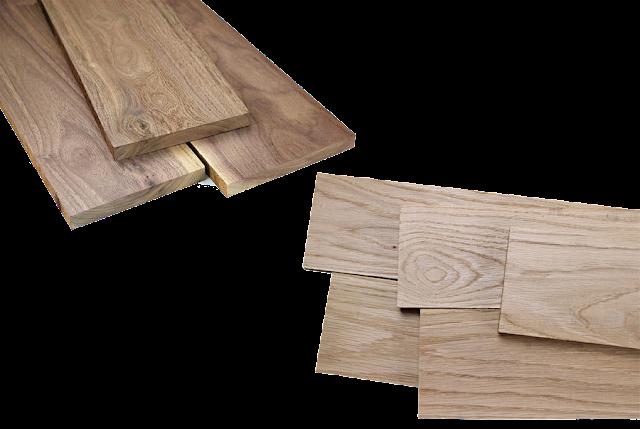 Gia công gỗ óc chó và gỗ sồi