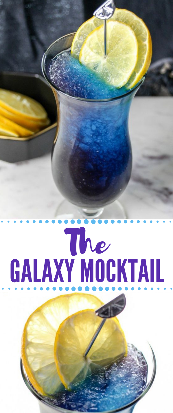 THE GALAXY MOCKTAIL #mocktail #drink #yummy #party #drinkkids
