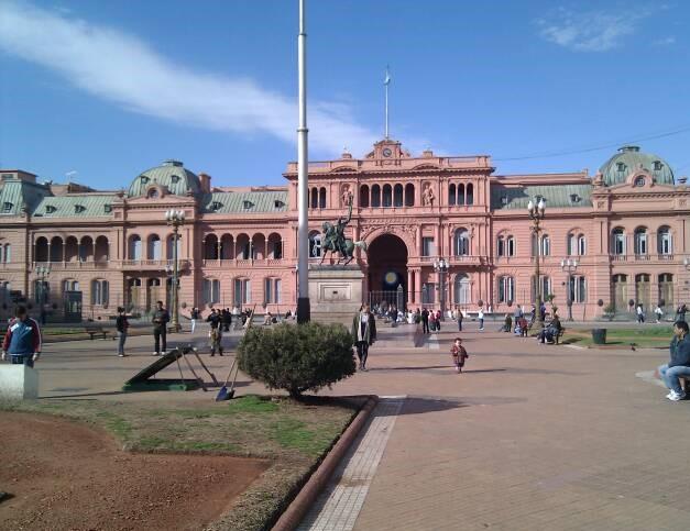 Casa Rosada in Buenos Aires, Argentinië