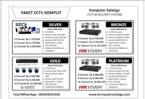 Harga Pasang CCTV 4 Kamera Termurah Di Semarang (085643591626)