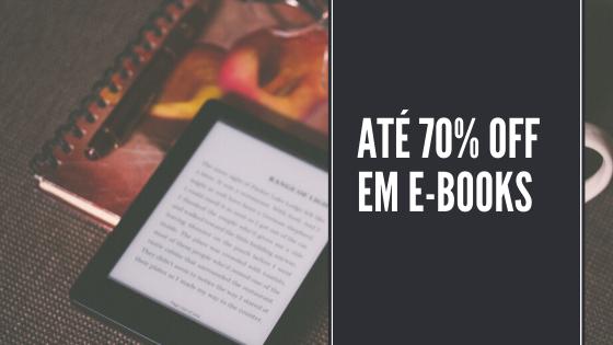 e-books em promoção