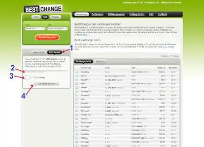 ربح البتكوين مجانا من bestchange
