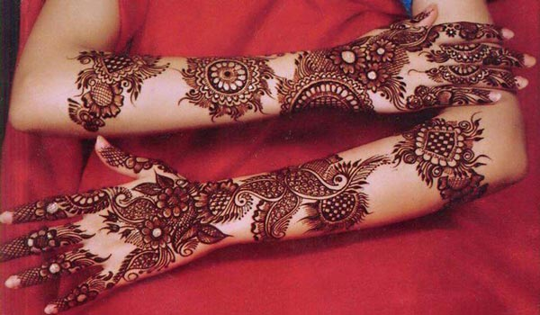 mehndi designs for girls