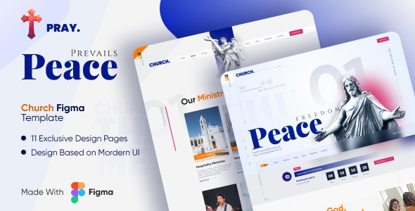 Best Complete Charitable Organizational Figma Template
