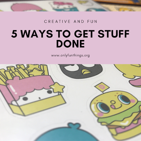 5 Fun and Creative Ways to Get Boring Tasks Done