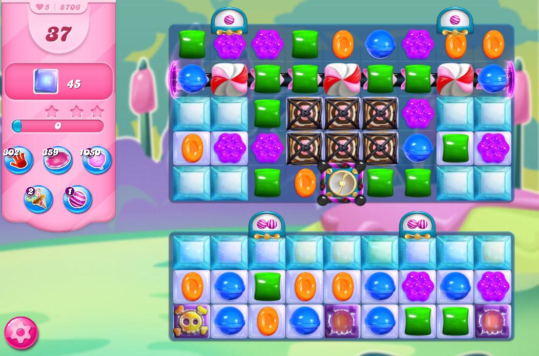 Candy Crush Saga level 8706