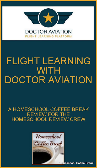 Flight Learning with Doctor Aviation (A Homeschool Coffee Break Review for the Homeschool Review Crew) on Homeschool Coffee Break @ kympossibleblog.blogspot.com - Doctor Aviation is an online aviation and aviation history course suitable for high school study. Read our full review!