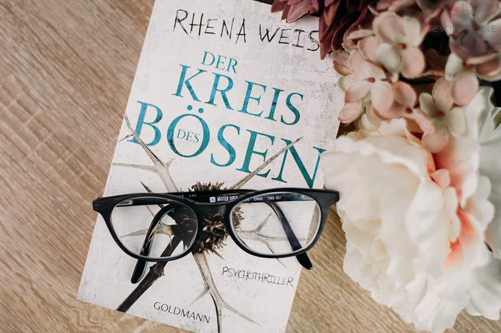 Rhena Weiss - Der Kreis des Bösen Flatlay