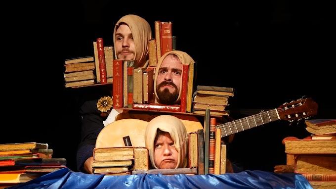 Espetáculo para crianças: No Livro Tudo Tem
