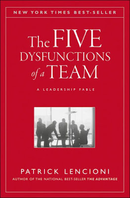 "Featured in the article: ""12 Best Leadership Books You Must Read"". The Five Dysfunctions of a Team: A Leadership Fable By Patrick Lencioni"