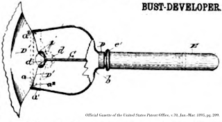 Image of Bust-Enhancer, Official Gazette of the United States Patent Office, v.70, Jan.-Mar. 1895, pg. 209.