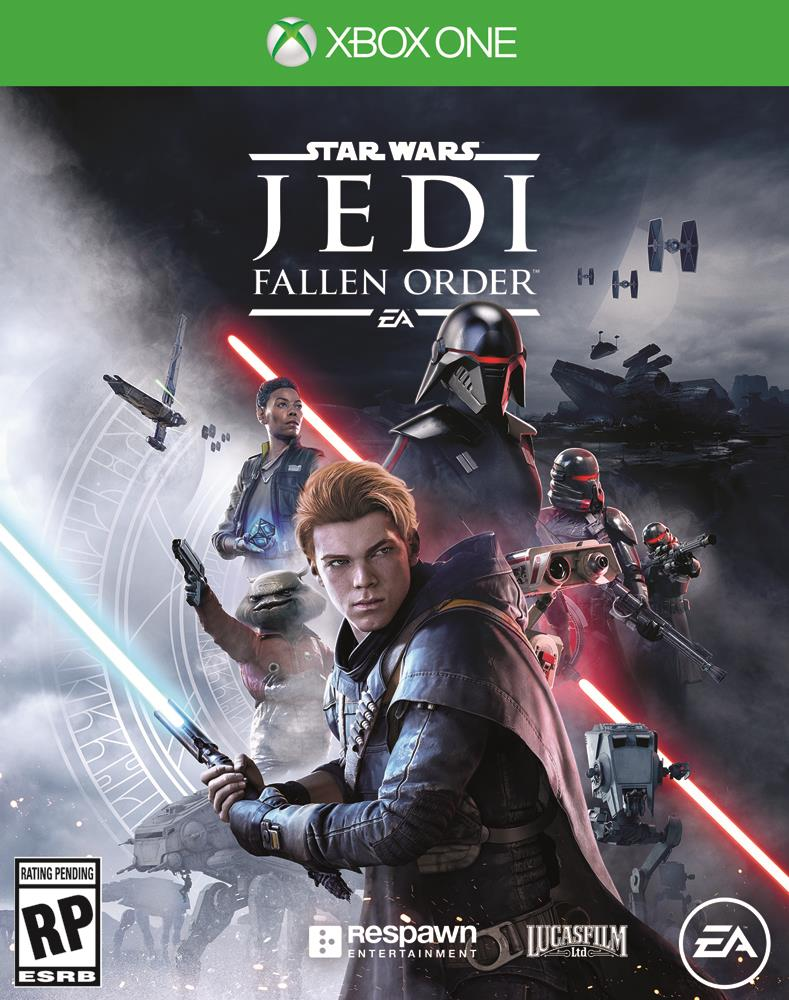 Star Wars Jedi: Fallen Order xbox cover art