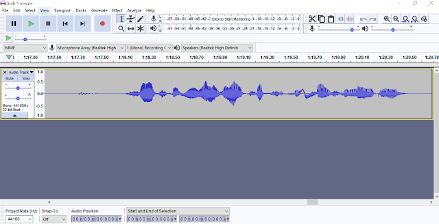 recording your voice-over