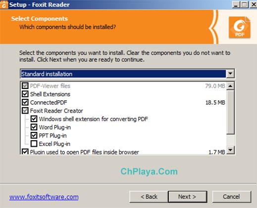 Hướng dẫn cài đặt Foxit Reader trên PC c