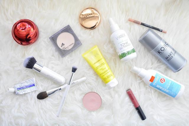 ulubieńcy stycznia. miya cosmetics, kobo, glambrush, manhattan, lorac, glampop, zoeva, golden rose, vianek, evree