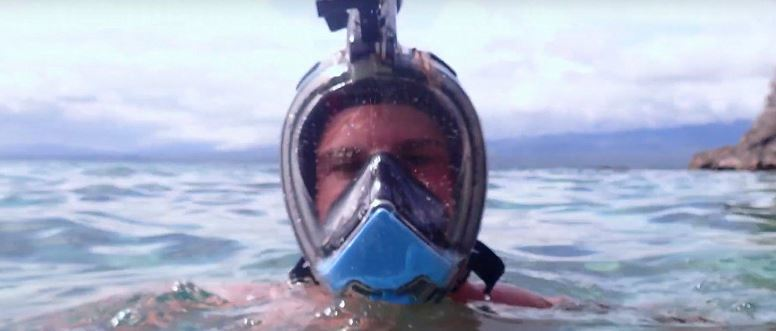 Vacationers in Egypt will appreciate. Introduced snorkeling mask with walkie-talkie