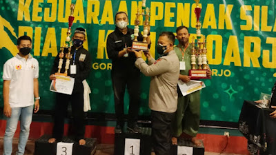 Pagar Nusa Juara Umum Porkab Silat di Sidoarjo, Mencetak Atlet Berkualitas Melestarikan Budaya