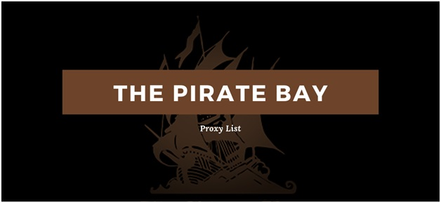 The Best Pirate Bay Proxy Sites 2020
