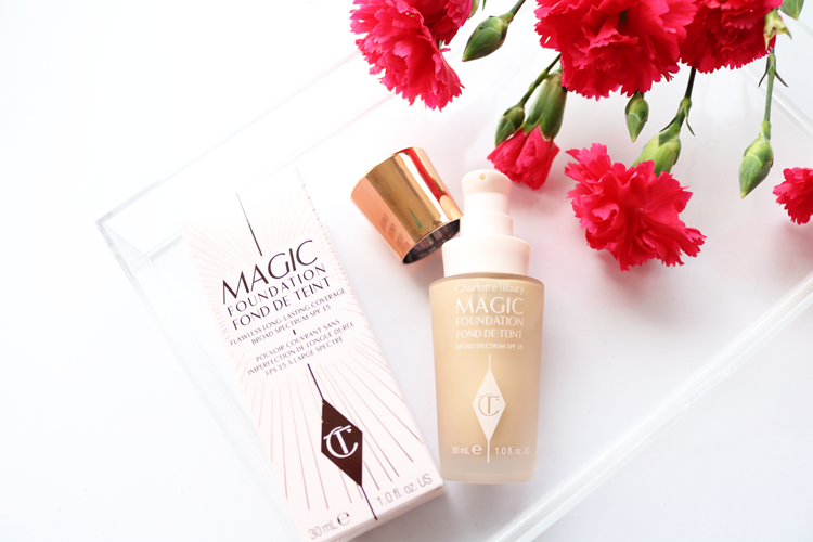 Charlotte Tilbury Magic Foundation review & swatches 5 medium