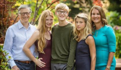 Bill Gates Families
