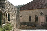An ancient synagogue, which was commissioned by the Baron (Rosh Pinna)