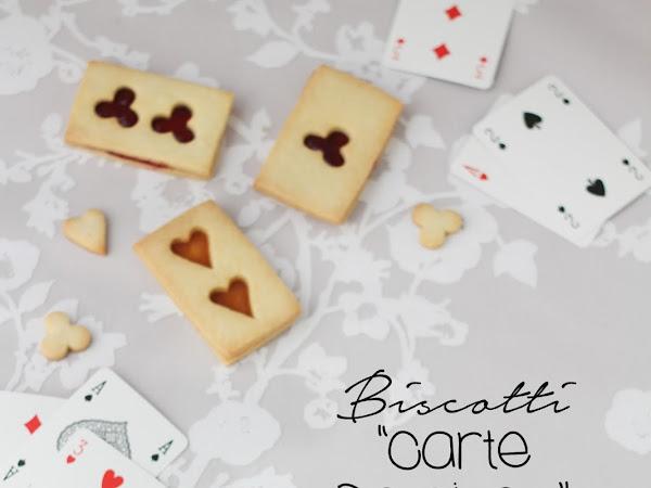 """Biscotti """"Carte da gioco"""""""