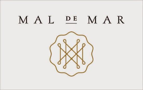 Bold & Thin line Logo Mal de Mar