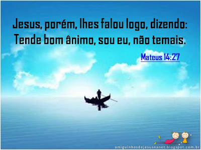 Versículo - Mateus 14:27
