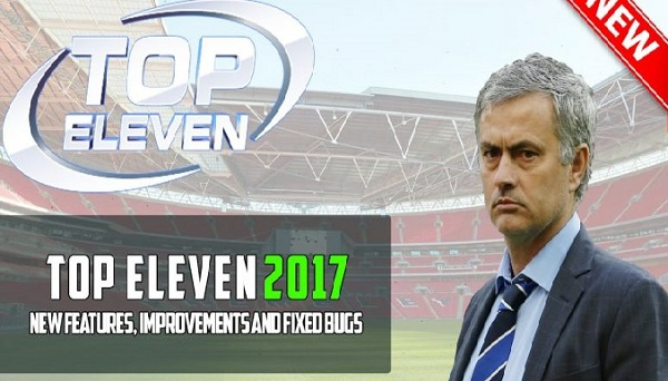 Download Top Eleven 2017 Mod Apk Unlimited Tokens & Money