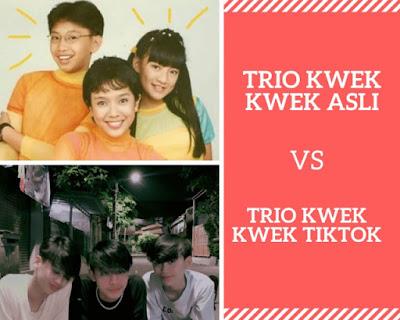 Trio Kwek Kwek TikTok vs Trio Kwek Kwek Asli