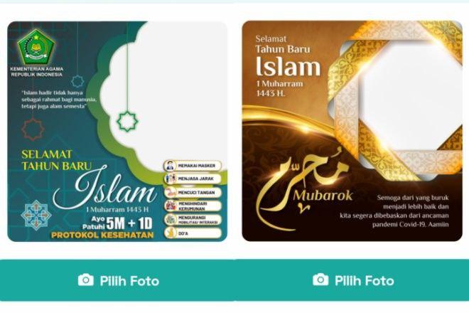 Kumpulan Link Download Twibbon Bingkai Foto Tahun Baru Islam 2021/1 Muharram 1443 H