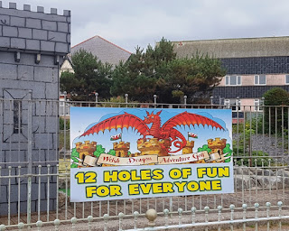 Welsh Dragon Adventure Golf in Rhyl