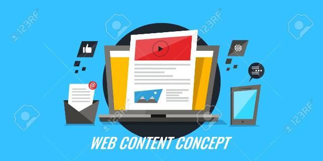 Pengertian  Web Content dan Jenis-Jenis Konten Web