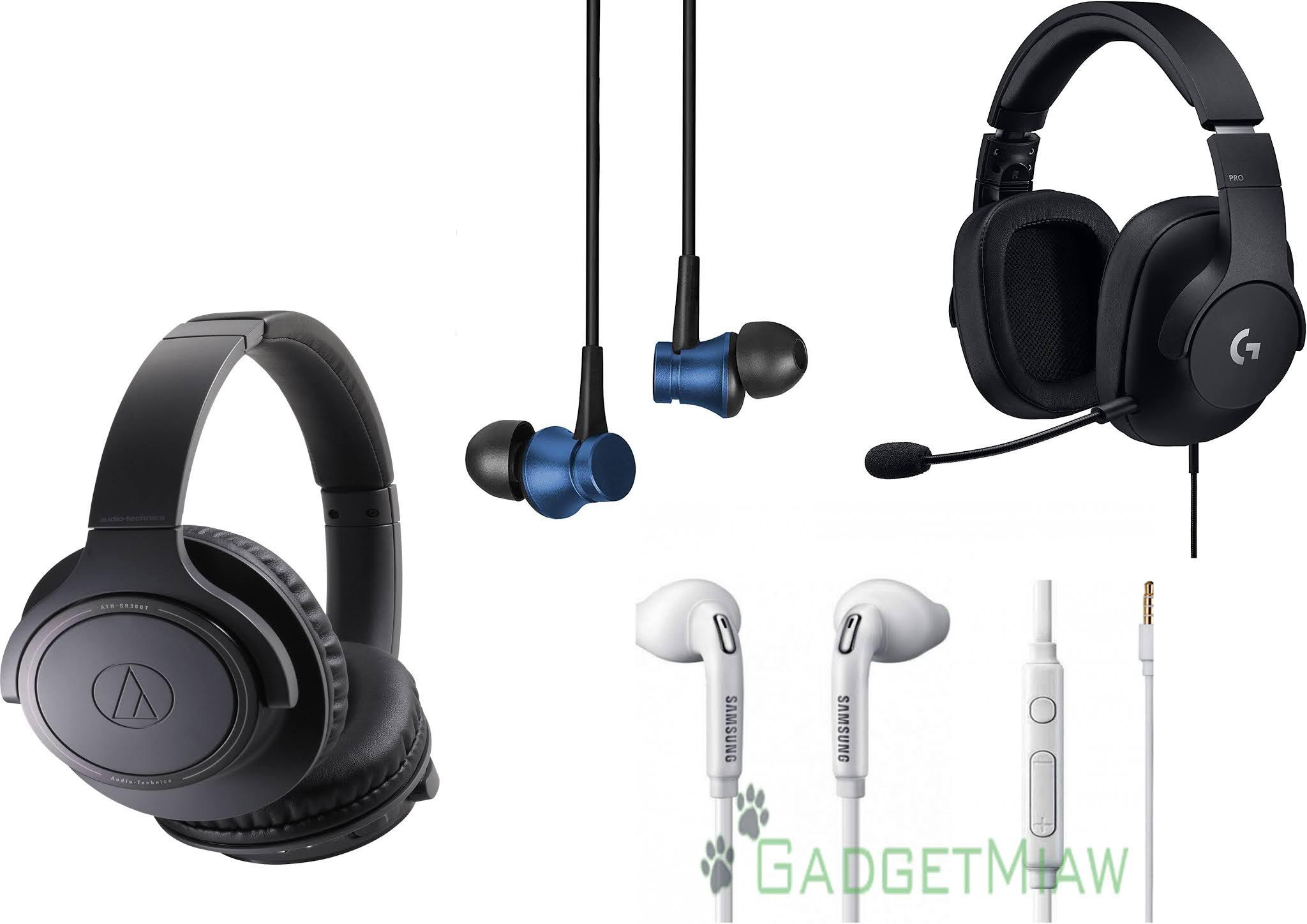Perbedaan Headsets, Headphones,  Earphones dan Handsfree
