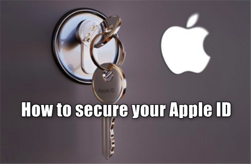How to secure your Apple ID