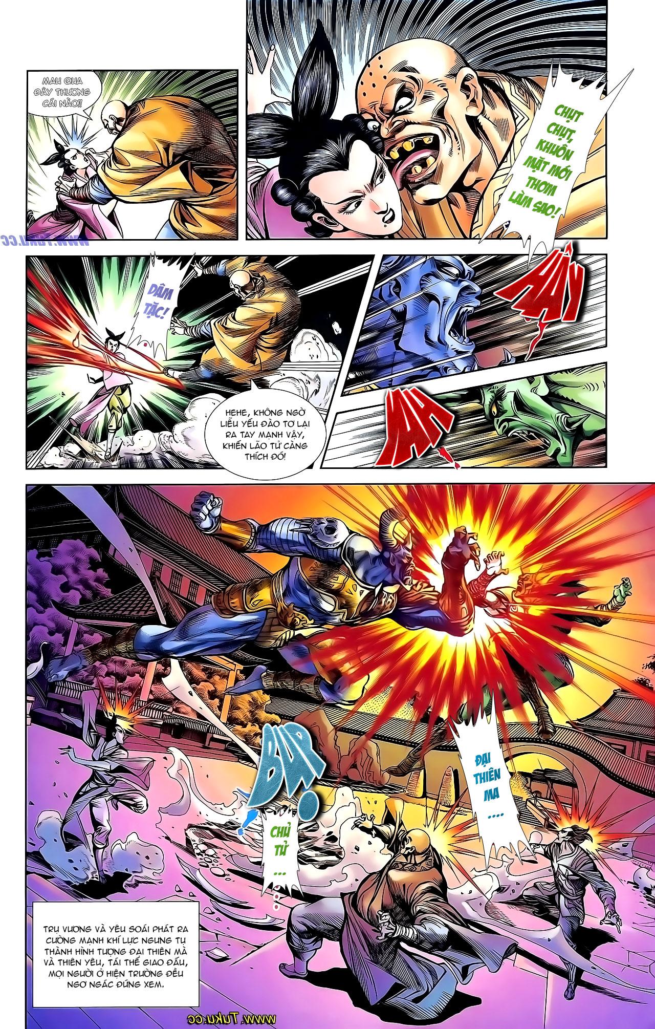 Cơ Phát Khai Chu Bản chapter 136 trang 24