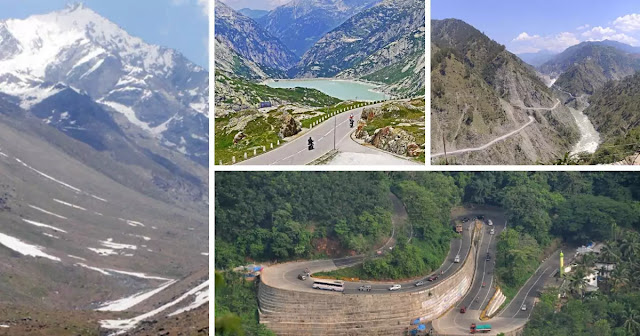 Important Mountain Passes of India
