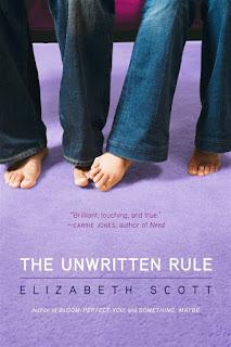 The unwritten rule   Elizabeth Scott