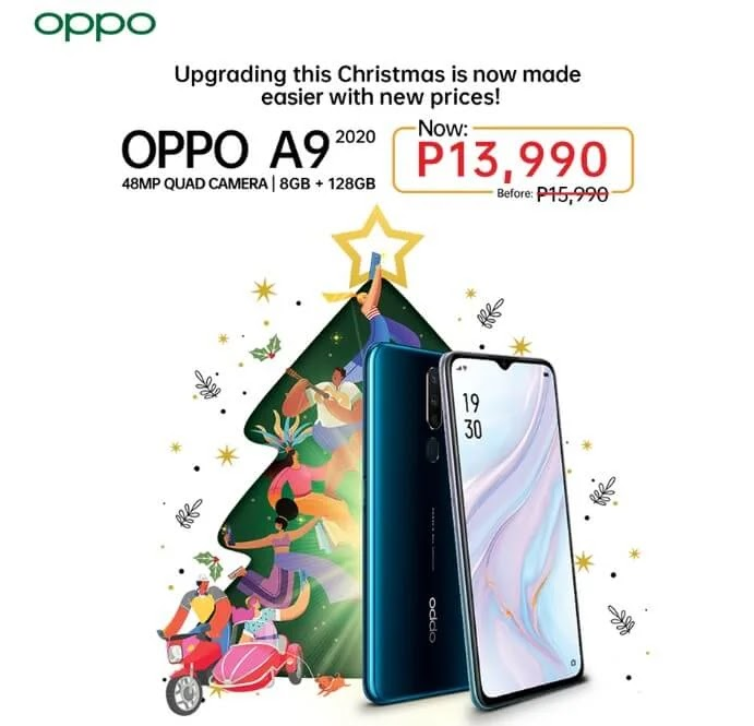 OPPO A9 2020 Now Only Php13,990