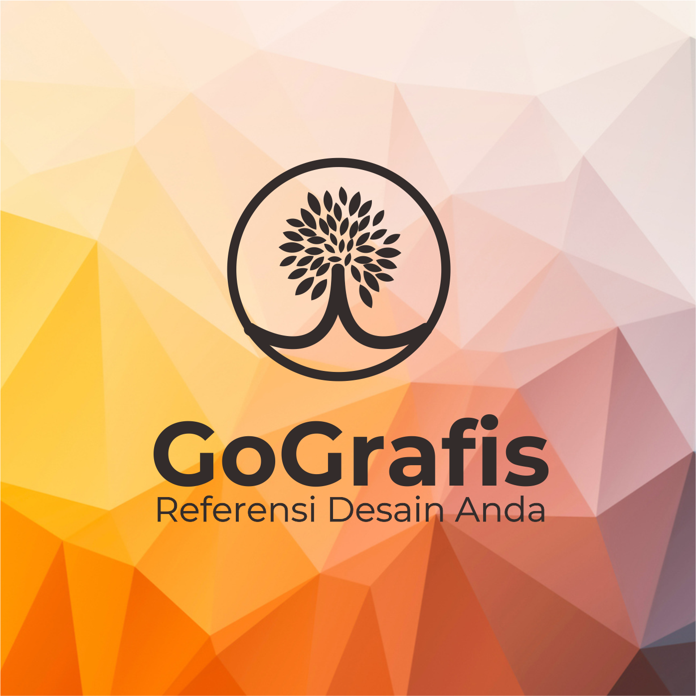 GoGrafis: Template Brosur Lipat 3 2 Muka CorelDraw (CDR
