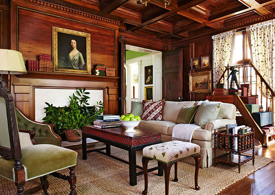 Mix And Chic A Fresh And Unexpected Traditional Home In