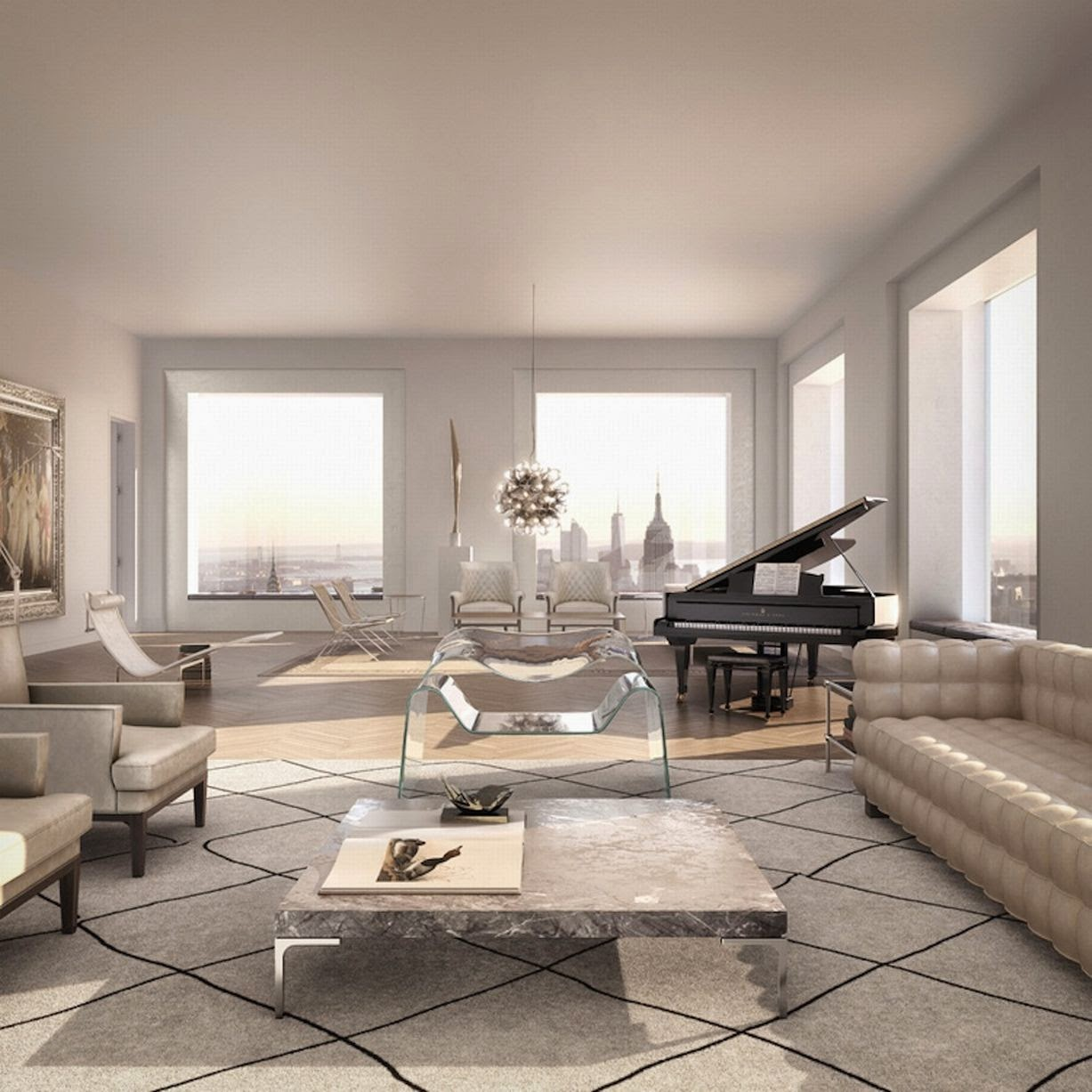 The Avenue By Executive Apartments: Passion For Luxury : Glorious 432 Park Avenue Skyscraper
