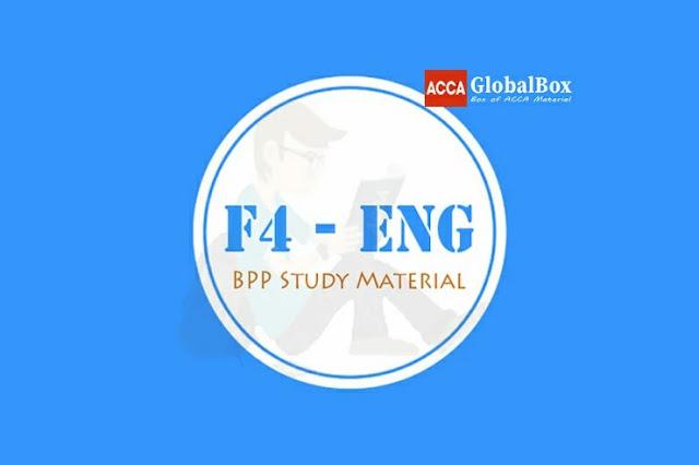 F4 - (LW) | GLOBAL | BPP Study Material, Accaglobalbox, acca globalbox, acca global box, accajukebox, acca jukebox, acca juke box,