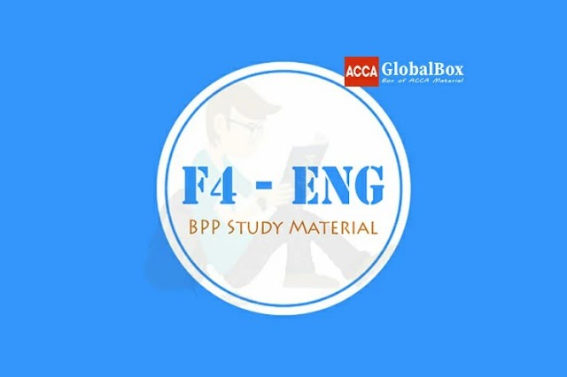 [2020] | F4 - (LW) | ENGLISH | Corporate and Business Law | BPP | STUDY TEXT and EXAM KIT