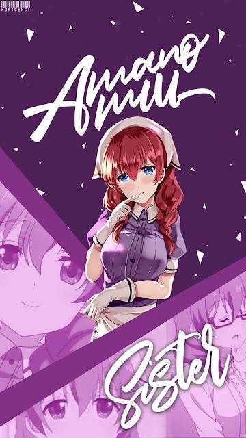 Amano Miu - Blend S Wallpaper