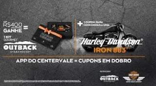 Promoção CenterVale Shopping Dia dos Namorados 2019 - Concorra Harley Davidson