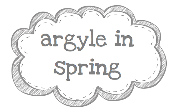 argyle in spring